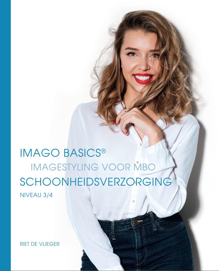 Cover ImagoBasics Imagestyling voor MBO Opleiding Schoonheidsverzorging
