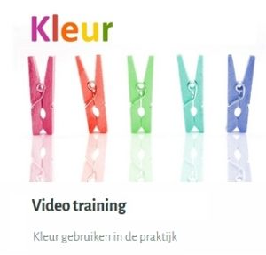 Imagestyling materialen: Kleur Videotraining