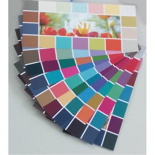 Set 50 enkelvoudige kleurkaarten 10 kleurgroepen