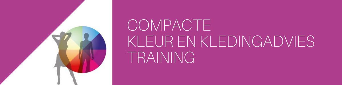 Compacte Kleur en kledingadvies training